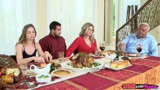 Mommys Bang Chick – Wicked Family Thanksgiving