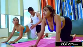 Darling Big Ass Babes Fucked By Sleazy Yoga Instructor – Abella Danger, Cassidy Banks